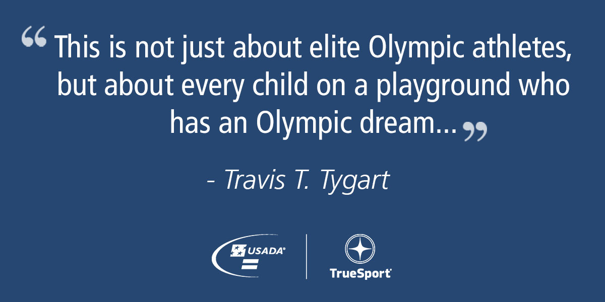 Quote by Travis T. Tygart
