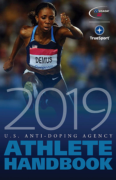 2019 Athlete handbook cover