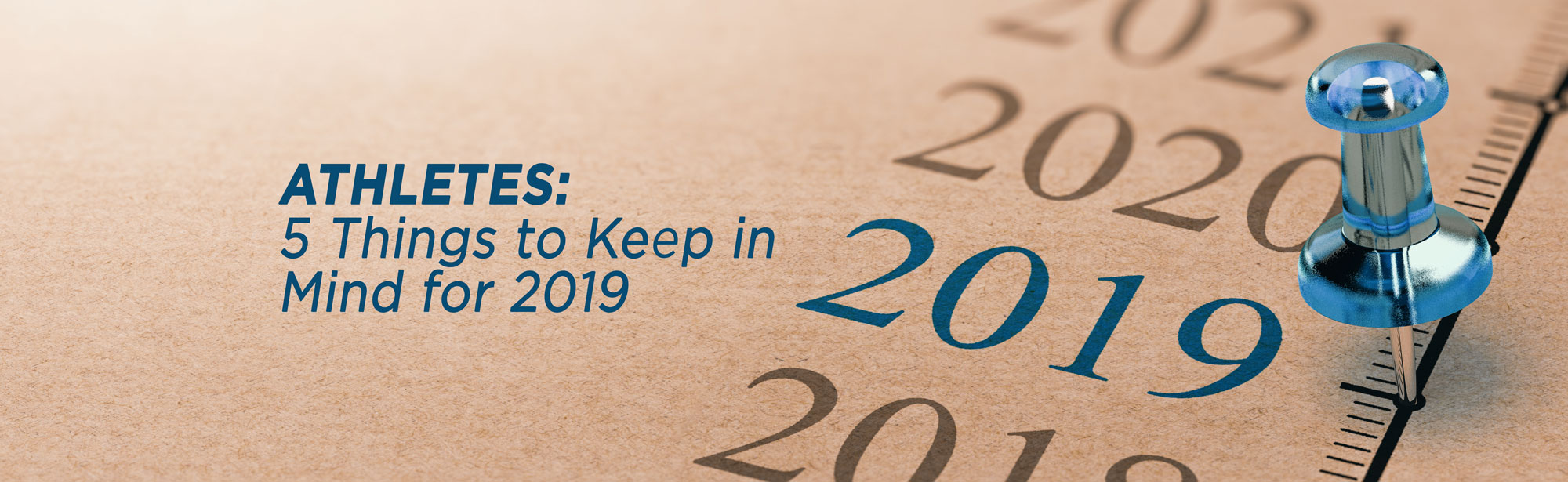 2019 calendar athletes need to know