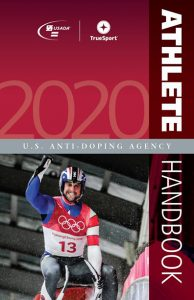 cover image of the 2020 Athlete Handbook
