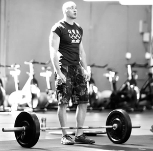 Andy Morrison weightlifting