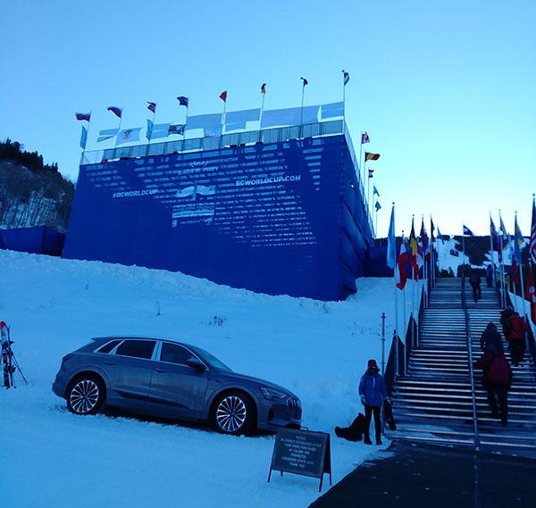 winter sports mountain venue