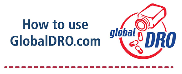 how to use globaldro.com with global dro logo