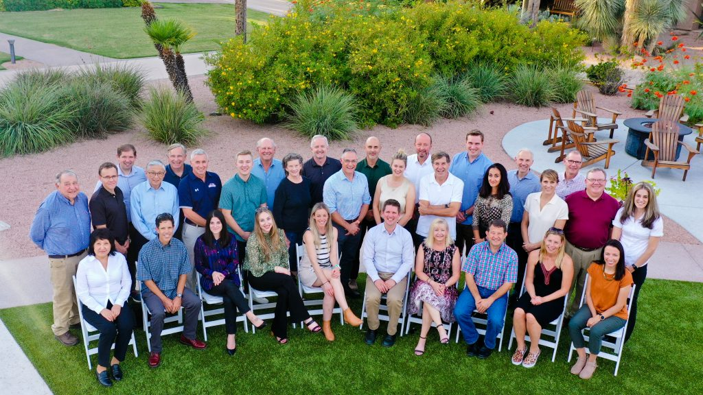 2021 Science Symposium group photo.