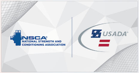 NSACA and USADA logos