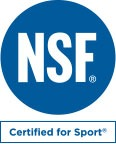 old NSF Certified for Sport logo