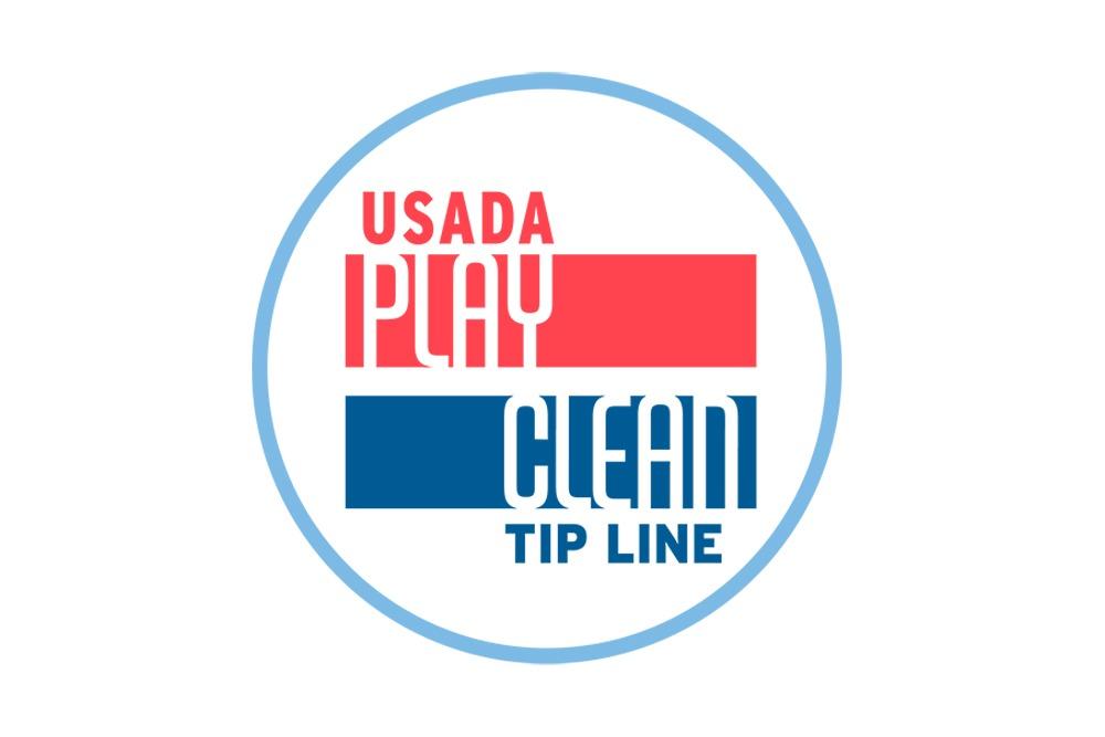 Play Clean tip line logo.