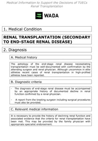 TUE_guidance_renal_transplation-renal_disease