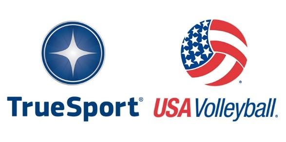 true sport usa volleyball logos