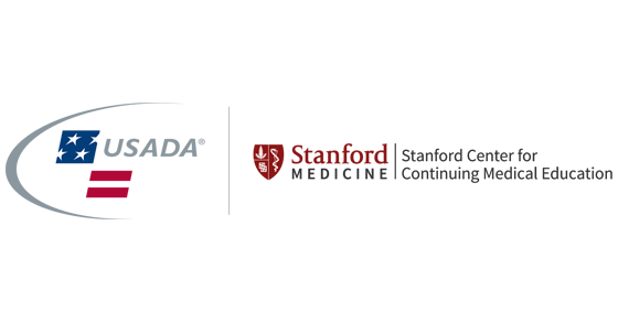usada and stanford medicine logos