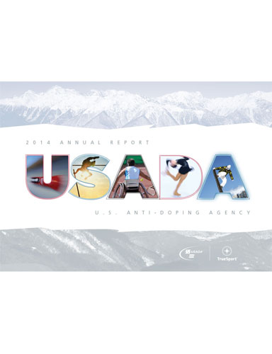 usada 2014 annual report cover