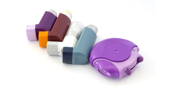 different inhalers