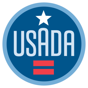 USADA logo.