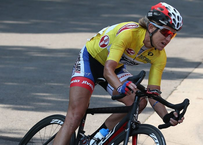 Cyclist Kristin Armstrong