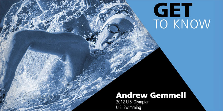 andrew gemmell swimming