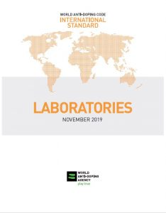 cover of WADA International Standard for Laboratories