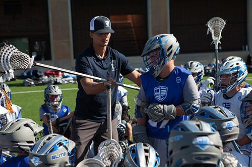 lacrosse coach