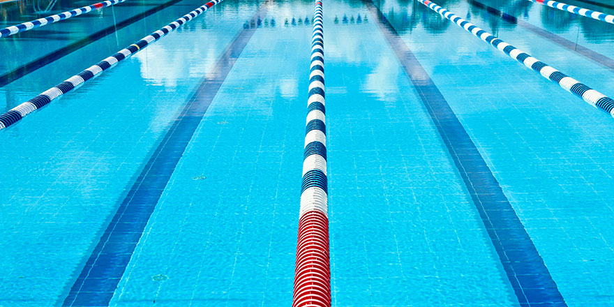 swimming lane lines