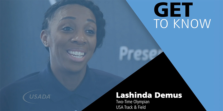 Meet Lashinda Demus