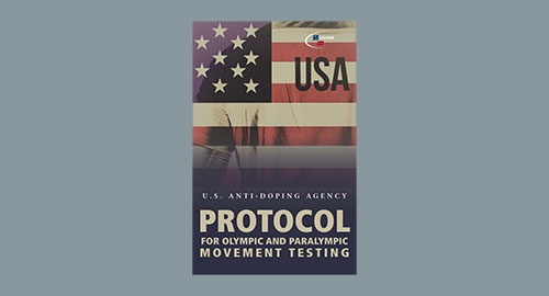 cover of USADA Protocol on grey background