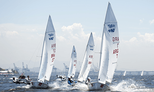 image of sailing boats in a competition