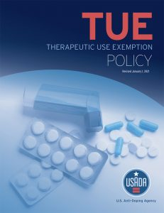USADA Therapeutic Use Exemption Policy cover.