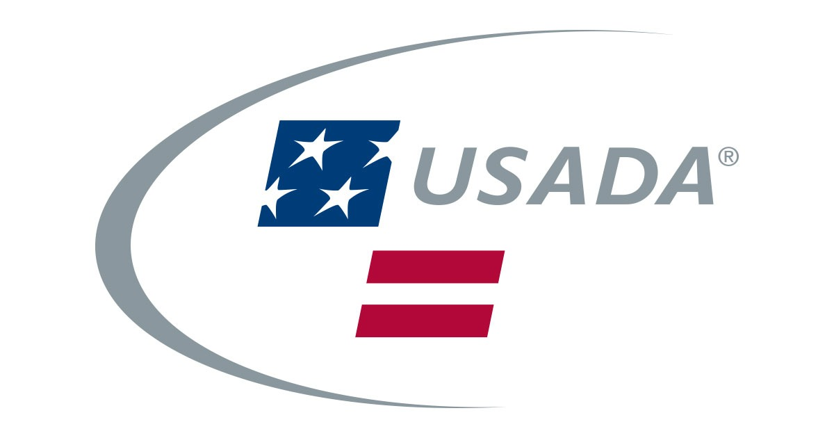 USADA logo on white background