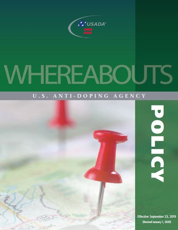Whereabouts Policy cover