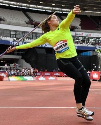 kara winger throwing javelin